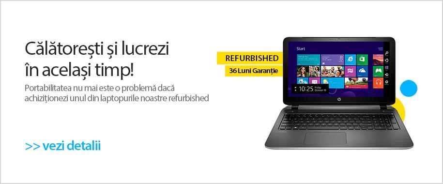 Laptopuri Refurbished la cele mai bune preturi!