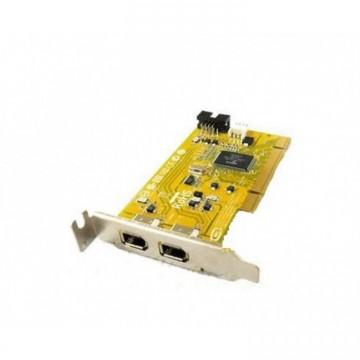 Adaptor PCI FireWire IEEE-1394A, low profile bracket, Second Hand Calculatoare