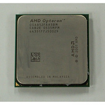 AMD Opteron 852 OSA852FAA5BM, 2600 mhz, Socket  940, Second Hand Servere & Retelistica