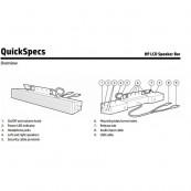 Boxa HP LCD Speaker Bar NQ576AA Componente & Accesorii