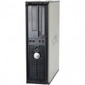 Calculator DELL GX380 SFF, Intel Core2 Duo E6700 2.66GHz, 4GB DDR3, 250GB SATA, DVD-RW, Second Hand Calculatoare