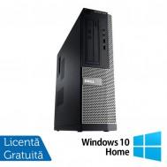 Calculator DELL OptiPlex 3010, Desktop, Intel Core i5-3470, 3.20 GHz, 4 GB DDR3, 1TB SATA, HDMI, DVD-ROM + Windows 10 Home