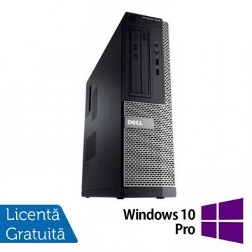 Calculator DELL OptiPlex 3010, Desktop, Intel Core i5-3470, 3.20 GHz, 4 GB DDR3, 500GB SATA, HDMI, DVD-ROM + Windows 10 Pro, Refurbished Calculatoare