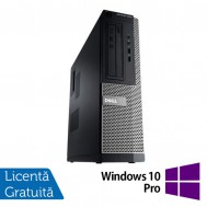 Calculator DELL OptiPlex 3010, Desktop, Intel Core i5-3470, 3.20 GHz, 8 GB DDR3, 240GB SSD, HDMI, DVD-ROM + Windows 10 Pro