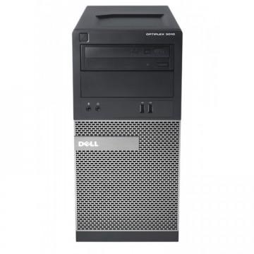 Calculator Dell OptiPlex 3010 Tower, Intel Core i5-3470 3.20GHz, 4GB DDR3, 500GB SATA, DVD-ROM, Second Hand