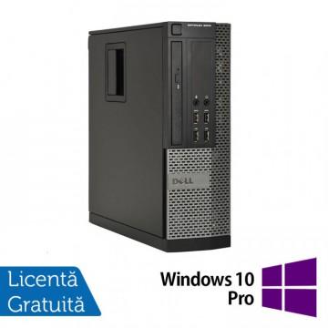 Calculator DELL OptiPlex 9010 SFF, Intel Core i5-3570 3.40 GHz, 8GB DDR3, 500GB SATA, DVD-ROM + Windows 10 Pro, Refurbished Calculatoare