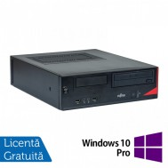Calculator Fujitsu E520, Intel Core i5-4570 3.20GHz, 4GB DDR3, 250GB SATA, DVD-ROM + Windows 10 Pro