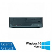Calculator FUJITSU SIEMENS E3521, Intel Pentium E5800 3.20GHz, 4GB DDR3, 250GB SATA, DVD-RW + Windows 10 Home