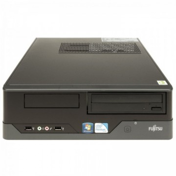 Calculator FUJITSU SIEMENS E400 SFF, Intel Core i3-2100 3.10GHz, 4GB DDR3, 250GB SATA, DVD-ROM, Second Hand Calculatoare