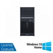 Calculator Fujitsu Siemens Esprimo P2560, Intel Pentium Dual Core E7500 2.93GHz, 2GB DDR3, 250GB SATA, DVD-RW + Windows 10 Home