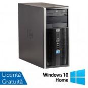 Calculator HP 6005 Pro Tower, AMD Athlon II x2 B22 2.80 GHz, 4GB DDR3, 250GB SATA, DVD-ROM + Windows 10 Home