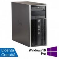 Calculator HP 6200 Tower, Intel Pentium G645 2.90GHz, 8GB DDR3, 500GB SATA, Radeon HD6450 512MB GDDR3, DVD-ROM (Top Sale!) + Windows 10 Pro