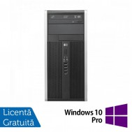 Calculator HP 6300 Tower, Intel Core i3-3220 3.30GHz, 4GB DDR3, 250GB SATA, DVD-ROM + Windows 10 Pro