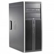 Calculator HP 8000 Elite SFF, Intel Core 2 Duo E8400, 3.00GHz, 4GB DDR3, 250GB SATA, DVD-ROM + Windows 10 Pro