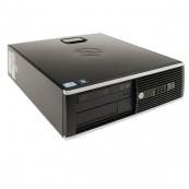 Calculator HP 8200 Elite SFF, Intel Core i5-2400 3.10GHz, 4GB DDR3, 250GB SATA, DVD-ROM, Port Serial, Display Port, Second Hand Calculatoare