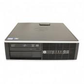 Calculator HP 8200 Elite SFF, Intel Core i3-2100 3.10GHz, 4GB DDR3, 250GB SATA, DVD-ROM, Port Serial, Display Port, Second Hand Calculatoare