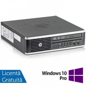 Calculator HP 8300 Elite USDT, Intel Core i3-3220 3.30GHz, 8GB DDR3, 120GB SSD, DVD-ROM + Windows 10 Pro, Refurbished