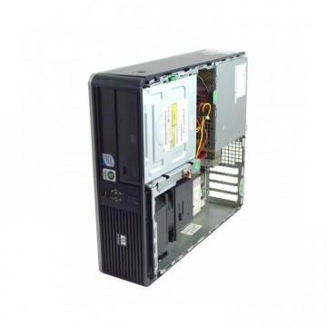 Calculator HP DC5800, Intel Pentium Dual Core E5200 2.50GHz, 2GB DDR2, 80GB SATA, Fara capac, Second Hand