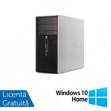 Calculator HP DC5850 Tower, AMD Athlon 64 X2 4450B 2.3 GHz, 2GB DDR2, 160GB SATA + Windows 10 Home, Refurbished