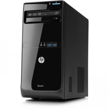 Calculator HP Pro 3400 Tower, Intel Core i3-2120 3.30GHz, 4GB DDR3, 500GB SATA, DVD-RW, Second Hand
