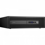 Calculator HP Prodesk 600 G2 SFF, Intel Core i3-6100 3.70GHz, 8GB DDR4, 500GB SATA, DVD-RW