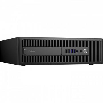 Calculator HP Prodesk 600 G2 SFF, Intel Core i3-6100T 3.20GHz, 4GB DDR4, 500GB SATA, Second Hand