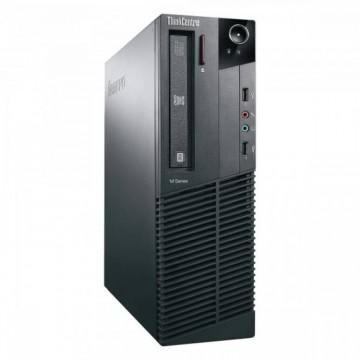 Calculator LENOVO M81, SFF, Intel Core i5-2400, 3.10 GHz, 8 GB DDR3, 250GB SATA, DVD-RW, Second Hand Calculatoare