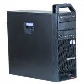 Calculator Lenovo S10, Intel Core 2 Quad Q9550 2.83GHz, 8GB DDR3, 500GB SATA, Placa video Nvidia Quadro FX370 256MB, DVD-RW