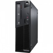 Calculator LENOVO ThinkCentre M81 Desktop, Intel Core i3-2100 3.10GHz, 4GB DDR3, 250GB SATA, DVD-ROM, Second Hand Calculatoare