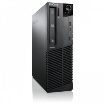 Calculator Lenovo Thinkcentre M83 SFF, Intel Core i5-4570 3.20 GHz, 8GB DDR3, 120GB SSD, DVD-RW, Second Hand