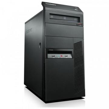 Calculator Lenovo Thinkcentre M91p Tower, Intel Core i7-2600 3.40GHz, 4GB DDR3, 500GB SATA, DVD-RW, Second Hand