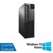 Calculator Lenovo ThinkCentre M92p SFF, Intel Core i3-3220 3.30GHz, 4GB DDR3, 120GB SSD, DVD-RW + Windows 10 Home