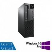 Calculator Lenovo ThinkCentre M92p SFF, Intel Core i3-3220 3.30GHz, 4GB DDR3, 320GB SATA, DVD-RW + Windows 10 Pro
