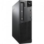 Calculator LENOVO Thinkcentre M92p, SFF, Intel Pentium Dual Core G640, 2.80 GHz, 4GB DDR3, 500GB SATA, DVD-RW, Second Hand Calculatoare