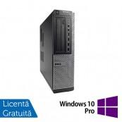 Calculator Refurbished DELL OptiPlex 7010 Desktop, Intel Core i3-3220 3.30 GHz, 4GB DDR3, 320GB SATA, DVD-ROM + Windows 10 Pro Calculatoare