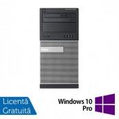 Calculator Refurbished DELL Optiplex 9020 Tower, Intel Core i7-4770 3.40GHz, 16GB DDR3, 256GB SSD, DVD-ROM + Windows 10 Pro Calculatoare