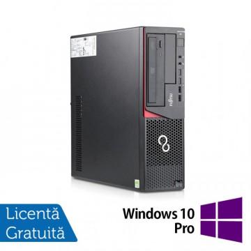 Calculator Refurbished FUJITSU SIEMENS E720, Desktop, Intel Core i3-4130, 3.40GHz, 8GB DDR3, 500GB SATA, DVD-ROM + Windows 10 Pro Calculatoare