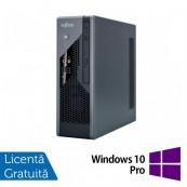 Calculator Refurbished Fujitsu Siemens Esprimo C5731 SFF, Intel Core 2 Duo E8400 3.00Ghz, 2GB DDR3, 160GB HDD + Windows 10 Pro