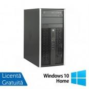 Calculator Refurbished HP 8200 Elite, Mini Tower, Intel Core i3-2100, 3.10 GHz, 4 GB DDR3, 250GB SATA, DVD-ROM + Windows 10 Home Calculatoare