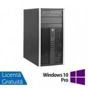 Calculator Refurbished HP 8200 Elite, Mini Tower, Intel Core i3-2100, 3.10 GHz, 4 GB DDR3, 250GB SATA, DVD-ROM + Windows 10 Pro Calculatoare