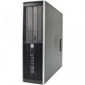 Calculator Refurbished HP Compaq 6000 Pro, SFF, Intel Pentium Dual Core E5800, 3.20 GHz, 4GB DDR3, 160GB SATA, DVD-ROM + Windows 10 Pro Calculatoare
