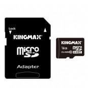 Card MicroSD KINGMAX SDHC 16GB (Class 10) Pro + Adaptor SD