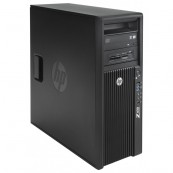 Gaming Workstation HP Z420, CPU Intel Xeon E5-1650 V2 3.50GHz-3.90GHz HEXA Core, 32GB DDR3 ECC, SSD 240GB + 2TB HDD, nVidia GeFo GeForce GTX 1060 + Windows 10 Pro 64 biti, Refurbished Calculatoare