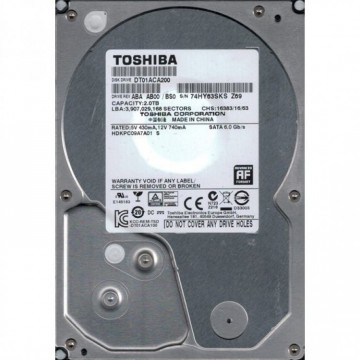 Hard Disk SATA 2TB 3.5 inch , Diverse modele, Second Hand