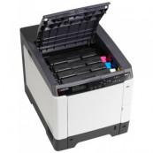 Imprimanta KYOCERA ECOSYS P6026cdn, 26 PPM, 600 x 600 DPI, Duplex, Retea, USB, A4, Color, Second Hand Imprimante