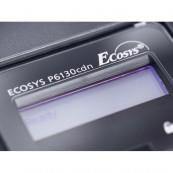 Imprimanta KYOCERA ECOSYS P6130CDN, 30PPM, 600 x 600 DPI, Duplex, Retea, USB, A4, Color, Toner Low, Second Hand Imprimante