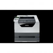 Imprimanta Laser BROTHER HL-5380DN, Monocrom, 30 ppm, 1200 x 1200, Duplex, Retea, USB + Cartus si Unitate Drum Noi, Second Hand Imprimante