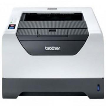 Imprimanta Laser Monocrom Brother HL-5340D, Duplex, A4, 32ppm, 1200 x 1200dpi, USB, Parallel, Cartus si Unitate Drum Noi, Second Hand