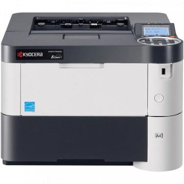 Imprimanta Laser Monocrom Kyocera ECOSYS P3055dn, Duplex, A4, 57ppm, 1200 x 1200dpi, USB, Retea, Second Hand