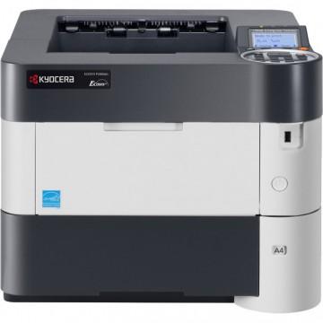 Imprimanta Laser Monocrom Kyocera ECOSYS P3060DN, A4, 62 ppm, 1200 x 1200 dpi, Duplex, USB, Retea, Second Hand